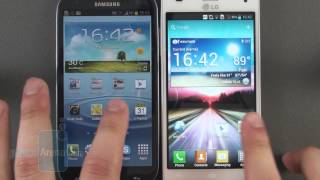 LG Optimus 4X HD vs Samsung Galaxy S III
