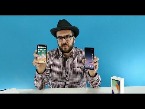 iPhone X трезвый взгляд. И Samsung Galaxy Note 8 / Арстайл /
