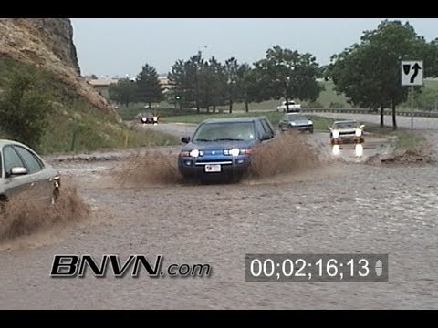 6/27/2004 Ken Caryl Colorado Flooding Video