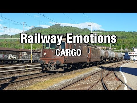 Long distance cargo cab ride on a fuel train (Cab Ride Switzerland | Olten - St. Margrethen)