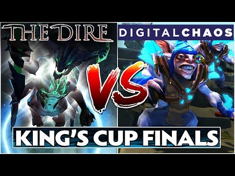 The Dire vs DC - King's Cup Grand Finals Dota 2