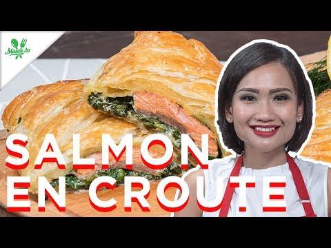Resep Salmon En Croute