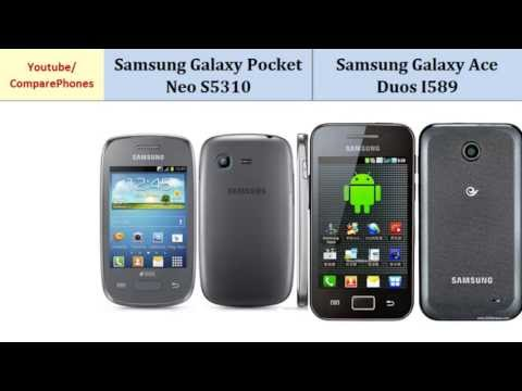 Samsung Galaxy Pocket Neo S5310 VS Samsung Galaxy Ace Duos, Details comparison