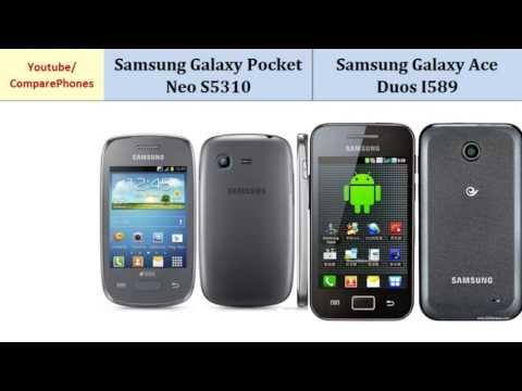 Samsung Galaxy Pocket Neo S5310 VS Samsung Galaxy Ace Duos, Details comparison