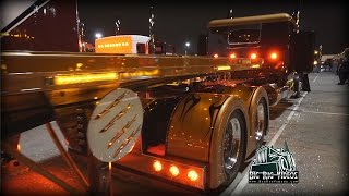 "FOR SALE ""Custombilt"" Peterbilt 359 (Light Show) - Truck Walk Around"