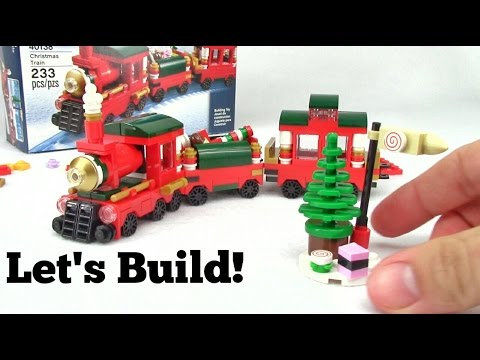 LEGO Holiday Christmas Train 40138 - Let's Build!