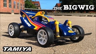 Tamiya THE BiGWiG Brushless 3500kv Vintage 4WD 1986 Buggy #58057: Test run and Tire Test Fail