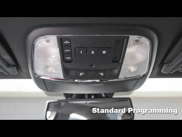 How To Program Your HomeLink Garage Door Opener ... - YouTube