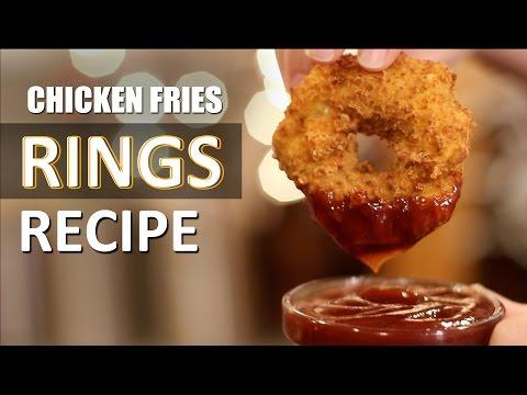 Lets make Crispy Cheddar Chicken Rings!!