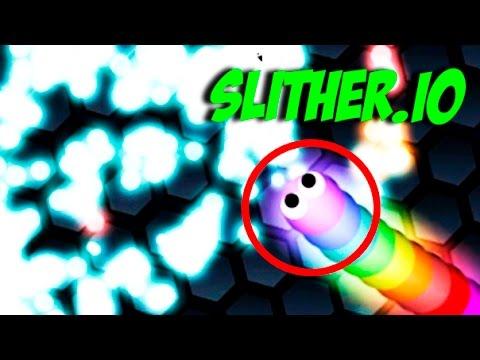 SLITHER.IO - Я БОЛЬШОЙ ЧЕРВЯК I'm a big worm