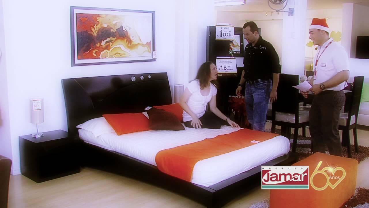 Comercial navidad jamar empleados 2011 youtube for Mueble jamar