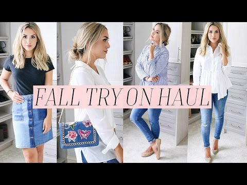 FALL TRY ON HAUL! + STYLE IDEAS FOR FALL 2016