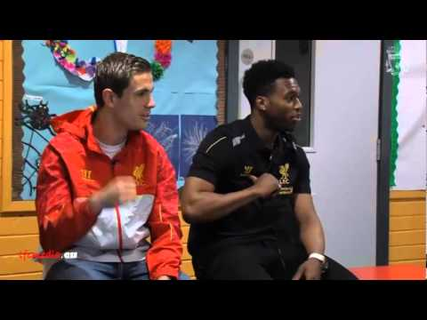 Daniel Sturridge and Jordan Henderson interview