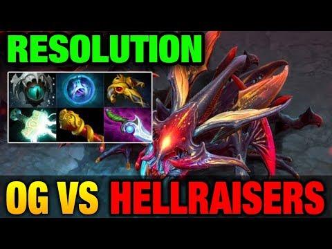 Resolution Weaver - OG VS HELLRAISERS - AMD SAPPHIRE Dota PIT Dota 2