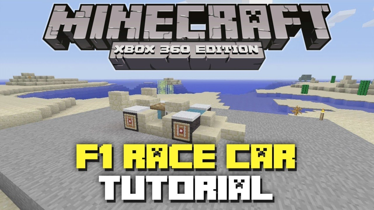 How To Build A Race Car In Minecraft Xbox Minecraft Xbox