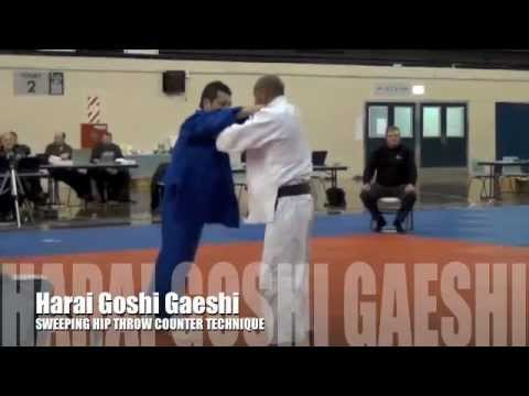 HARAI GOSHI GAESHI 払腰返 Sweeping Hip Judo Throw Counter Image 1