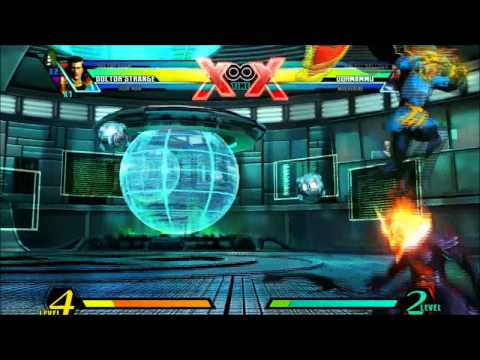UMvC3: Doctor Strange Red Grace corner trap demo