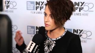 Kristen Stewart talking about her amazing fans at NYFF