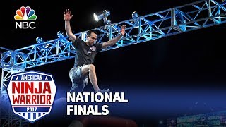 Joe Moravsky at the Las Vegas National Finals: Stage 1 - American Ninja Warrior 2017