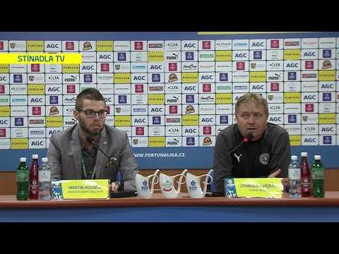Tisková konference domácího trenéra po utkání Teplice - Ostrava (24.11.2019)