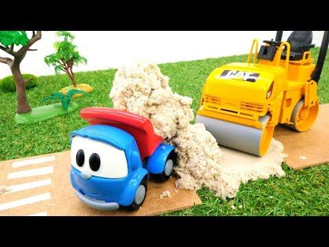 Грузовичок Лева — Развивающие мультфильмы — Ремонт дороги