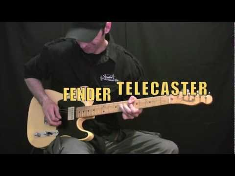 Fender Custom Shop 52 Relic Telecaster Limited Edition - 2005 January NAMM Music Videos