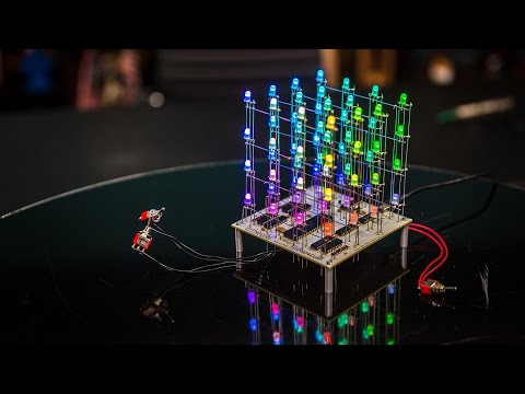 Show and Tell: Hypnocube LED Cube!