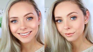 Simple Glowy Summer Makeup Tutorial