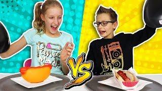 SQUISHY FOOD vs REAL FOOD!
