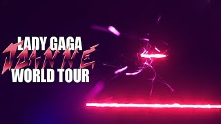 Lady Gaga - Poker Face (Joanne World Tour Official Backdrop)