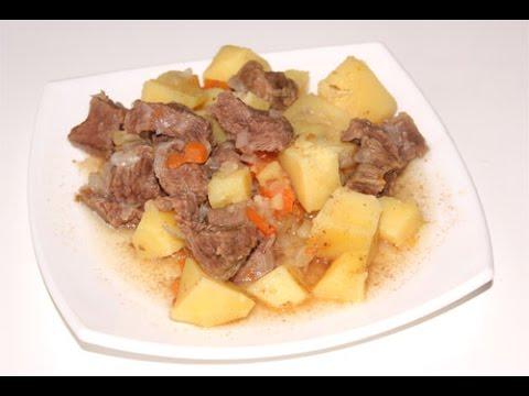 Мясо с картошкой в мультиварке редмонд, рецепт жаркого, как приготовить говядину с картошкой