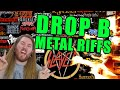 Lagu All time greatest drop b metal guitar riffs