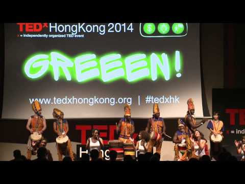 African Drumming And Dance Connection |  Makha Diop | TEDxHongKong