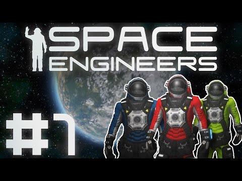 Space Engineers #1  3 Jungs & 1 Asteroid | Porkchop Media