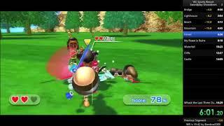 Swordplay Showdown Speedrun [16:01] (Wii Sports Resort)
