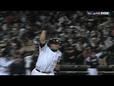 Ordonez's AL Pennant-clinching homer