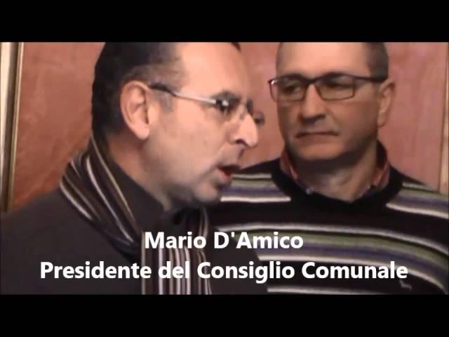 Filmato Mario Amico 06022015 targa Comune