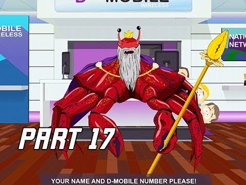 South Park The Fractured But Whole Walkthrough Part 17 - Crab Salesmen (Let's Play)