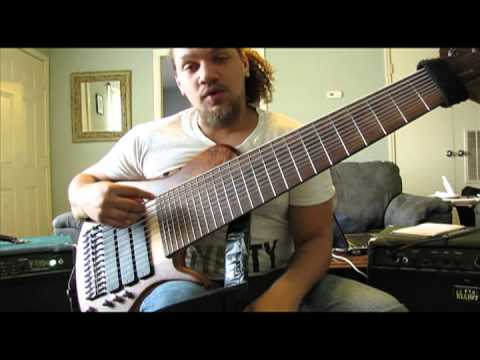 Scott Fernandez 12 String Bass (Sophia) WalkThrough and Demonstration