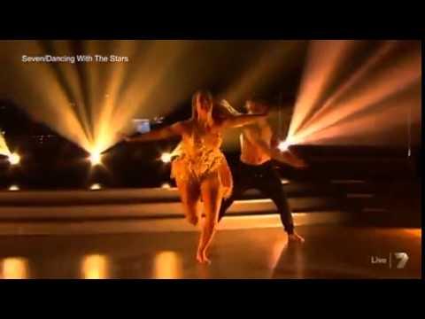 Torah Bright dances to Katy Perry's Roar...