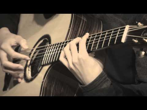 (original) Flaming - Sungha Jung (baritone Guitar) video