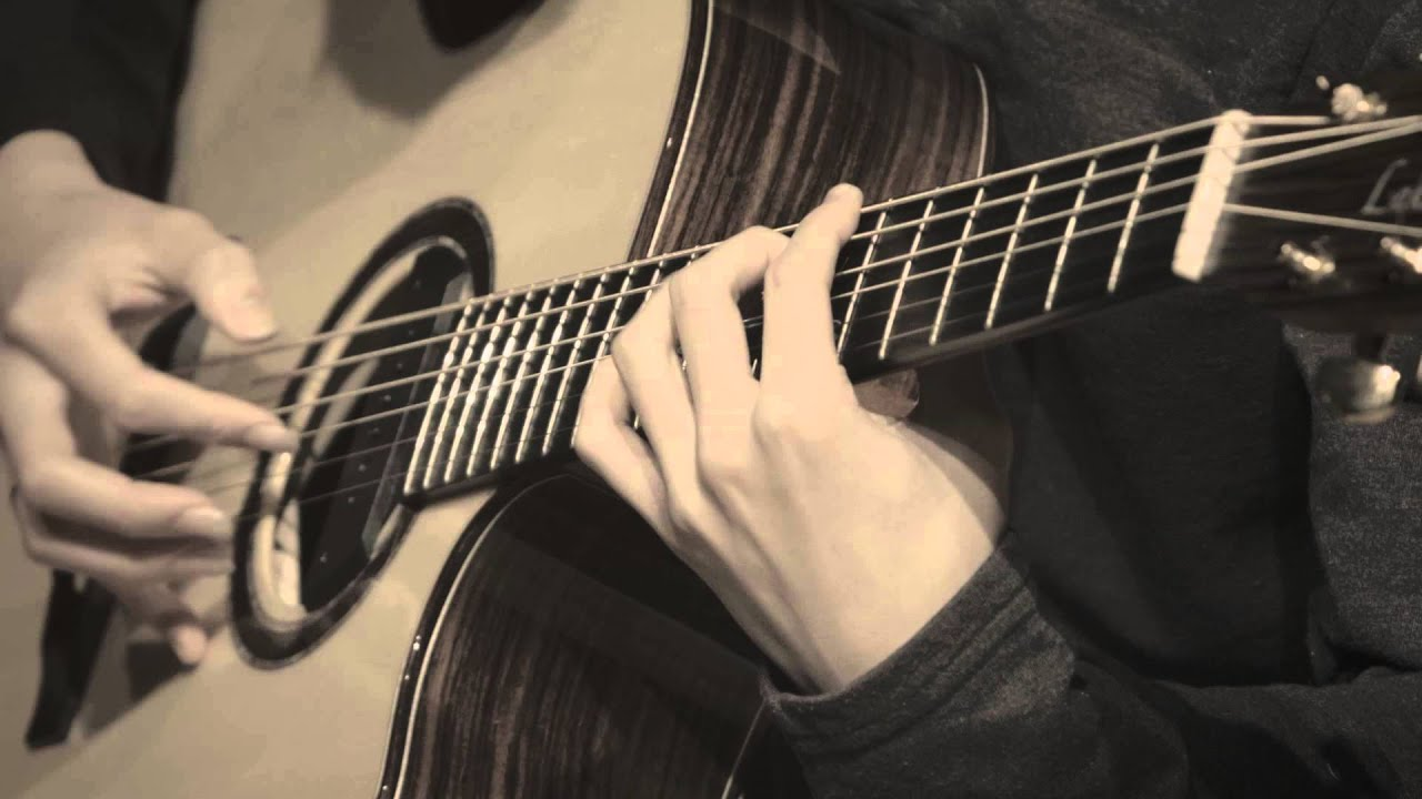 (Original) Flaming - Sungha Jung (Baritone Guitar) - YouTube