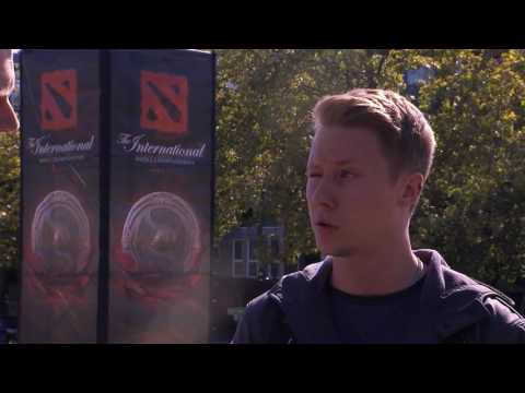 TI6 At The Event - Akke Exit Interview
