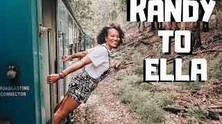 Kandy to Ella: World's Most Beautiful Train Rides | Sri Lanka Vlog | Ep. 3 | illustrated by Sade