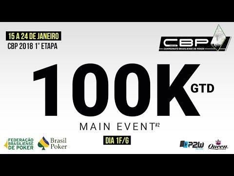 Torneio de Poker - 1ª Etapa Campeonato Brasiliense de Poker P2W Dia1 F/G - Com Ney Bosco e Paulo Boo