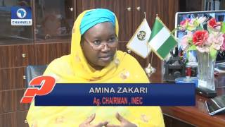 Question Time Interviews Acting Chairman Of INEC Amina Zakari Pt 3