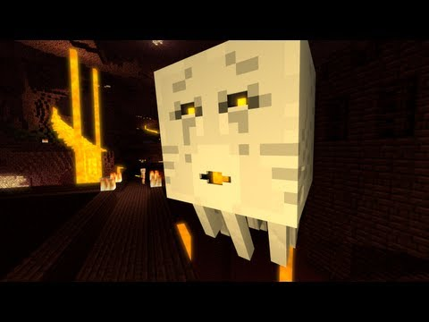 Minecraft Animation - A Ghast's Life