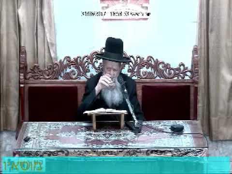 """הרה""""ג הרב בן ציון מוצפי שליט""""א - כי תצא תשע""""ז"""