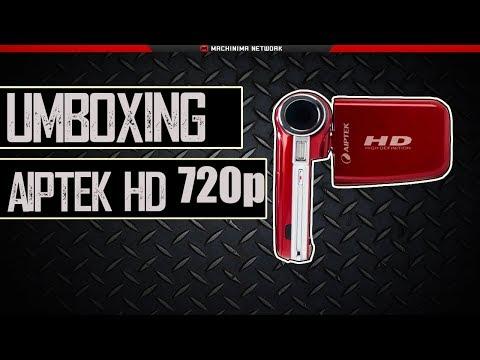 Unboxing - Filmadora Aiptek Cam Recorder 720p