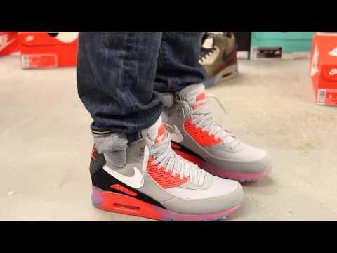 Nike Air Max 90 Sneakerboot Infrared